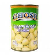 Champiñones enteros Ghosh, 400 gr