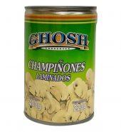 Champiñones laminados Ghosh, 400 gr