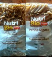 Pasta integral biologica fusili Reggia, 500 gr
